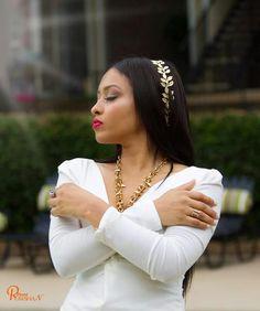 A golden queen