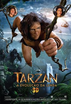 One of the most classic and revered stories of all time, Edgar Rice Burroughs' Tarzan returns to the big screen for a new generation. Tarzan and Jane face a mercenary army dispatched by the evil CEO of Greystoke Energies, a man who took over th. Tarzan 3d, Tarzan E Jane, Tarzan Movie, Kellan Lutz, Film Gif, Film D'animation, Cartoons, Motion Capture, Program Management