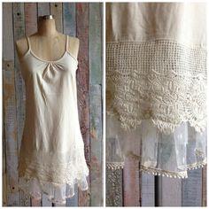 Loving the top extender look? Gypsy has the best! BRAND NEW Three Tier Crochet Top Extenders!