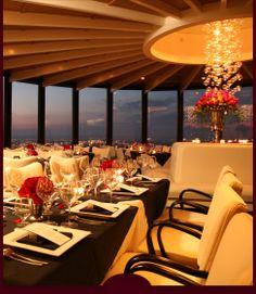 Louisville Restaurants: RIVUE Restaurant & Lounge At Galt House Hotel Louisville KY Fine Dining Best Of Seafood Steak Waterfront Rooftop Bar Twin Revolving Floor