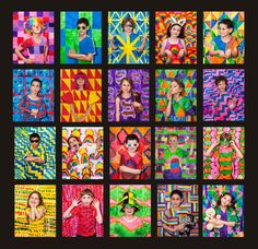 Yayoi Kusama was the inspiration for these works created by the kids for The Art of Colour. I was keen to show the kids that it wasn't just about the finished work, but about enjoying the jou…