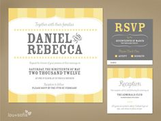 Create and download a marathi wedding invitation card online you custom wedding invitation set yellow vintage stripe printable anywhere invitation rsvp card and reception card stopboris Images