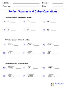 maths worksheets for high school on exponents - Google Search ...