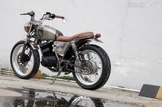 "SUZUKI THUNDER 125 BY KATROS GARAGE ""not so awesome but a nice bike"""