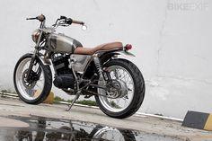 "SUZUKI THUNDER 125 BY KATROS GARAGE  ""not so awesome but a nice bike"""