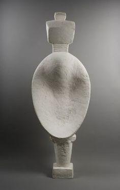 Alberto Giacometti, Femme cuillère, 1927 (version of 1953) Plaster, 146,5 x 51,6 x 21,5 cm