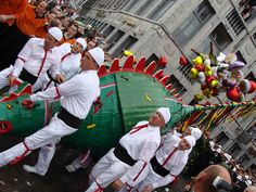 *my day to day* one more year left to avoid this...Mons, Belgium. Festival. La Ducasse. Dragon.