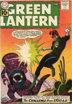 Green Lantern 8...Great Gil Kane cover