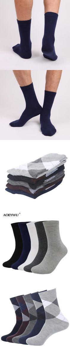 Eur40-44 2017 autumn winter men high quality brand business cotton socks male black dress socks for man long socks 5pairs/lot