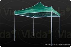 Carpa plegable color verde 3x3 gama optima #carpa #carpaplegable #carpaplegablebarata http://viada.net/tienda/