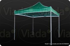 Carpa plegable color verde 3x3 gama optima #carpa #carpaplegable #carpaplegablebarata http://viada.net/tienda/