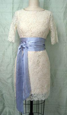 "Ivory Lace ""City Hall"" Wedding Dress – shopkimera"