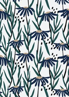 Download premium vector of Blue daisy patterned white background vector by Sicha about daisy pattern, pattern retro, daisy, Blue daisy patterned white background, and backdrop 893027