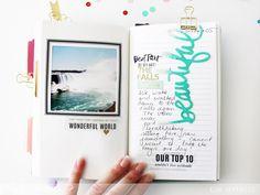 Adventure awaits travel book @kimjeffress for @heidiswapp