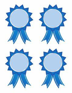 Worksheets: Blue Ribbons