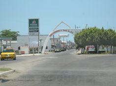 Entrance to San Blas, Nayarit, Mexico