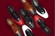 Prada 2012 Fall/Winter Lace-up Shoes