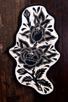 Roses. 2012 by Bryn Perrott woodcutting at its finest
