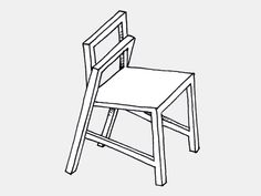 Frame #chair #design Davide Dante Valerio. #furniture #stackable #innovation #concept #sketch
