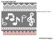 Bilderesultat for strikke diagram Knitting Charts, Knitting Socks, Knitted Hats, Knitting Patterns, Fair Isle Chart, Graph Paper Art, Diagram Chart, Music Logo, Mittens Pattern