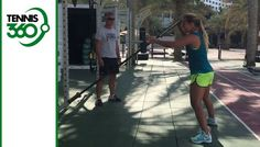 Watch Dominika Cibulkova's impressive workout routine in Dubai ahead of 2018 season - Vi...
