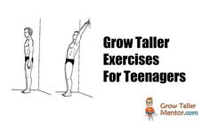 Grow Taller Exercises For Teenagers – Grow Taller Mentor Grow Taller Exercises, Increase Height, How To Grow Taller, Growth Hormone, Teenagers, At Least, Health Fitness, Challenge, Yoga
