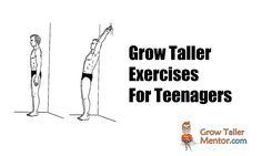 Grow Taller Exercises For Teenagers - Grow Taller Mentor