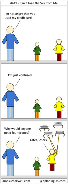 Cannot Take the Sky from Me ~ James Breakwell's Unbelievably Bad Webcomic