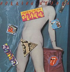 For Sale - Rolling Stones Undercover - dud UK  vinyl LP album (LP record) - See this and 250,000 other rare & vintage vinyl records, singles, LPs & CDs at http://eil.com