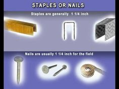 How Made It's Staples and Nails