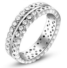 Find More Rings Information about Free shipping AC0094 new 2014 hot sale women's european style hollow out finger ring Austrian crystal white gold plated rings,High Quality Rings from New Day Mall on Aliexpress.com