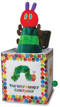 Eric Carle Very Hungry Caterpillar Jack in The Box $24.95 http://www.geniusbabies.com/eric-carle-very-hungry-caterpillar-jack-in-the-box.html