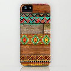 Indian Wood iPhone & iPod Case by Maximilian San - $35.00