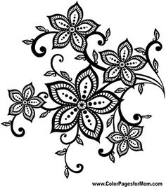 Flower Coloring Page 72