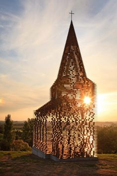 A unique See Through Church in Belgium  - Tourism Marketing Concepts