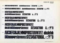 muestras tipográficas