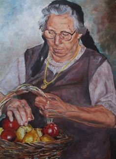 Mother, oil painting by joao viola