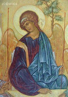 Byzantine Icons, Byzantine Art, Religious Icons, Religious Art, Russian Icons, Religious Paintings, Biblical Art, Archangel Michael, Art Icon