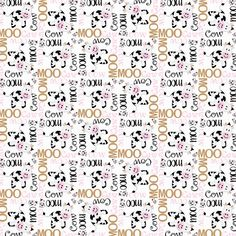 Reminisce Cowgirl Cowprint 12x12 Scrapbooking Paper 5pc