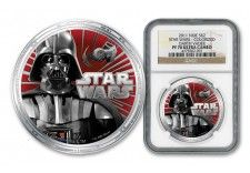 2011 Star Wars Darth Vader Silver Proof-Like Coin The Great White, World Coins, Empire, Star Wars, Darth Vader, Money, Stars, Paper, Silver