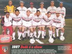 1997 - Fotos de Os Jogadores do Sao Paulo FC
