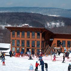 Skiing West Virginia. Via T+L (www.travelandleisure.com).