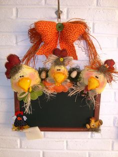 blackboard chickens