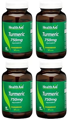 4 PACK  HealthAid  Turmeric Curcumin 750mg  60s  4 PACK BUNDLE; -- See this great product. (This is an affiliate link) Curcumin Supplement, Turmeric Curcumin, Link