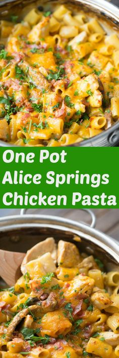 This Alice springs chicken is a one-pot favorite! It has everything you love about the restaurant's classic dish, but it's easy and made right in your own kitchen! via @Lemonsforlulu