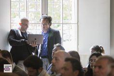 Daniele Piccarozzi - IBM; Leonida Gianfagna - IBM e AILM referente Lazio