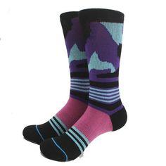 MYORED Mens unisex brand neutral towel bottom Socks colorful Male Warm Funny Long Sock Dog Moustache crazy sox