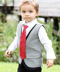 Black Cooper Vest - Infant, Toddler & Boys by RuggedButts #zulily #zulilyfinds