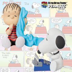 Bonecos Peanuts UDF Série 4: Snoopy Escritor, Snoopy Astronauta, Belle e Linus