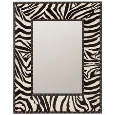 I pinned this Zebra Mirror from the Chez Couture event at Joss and Main!